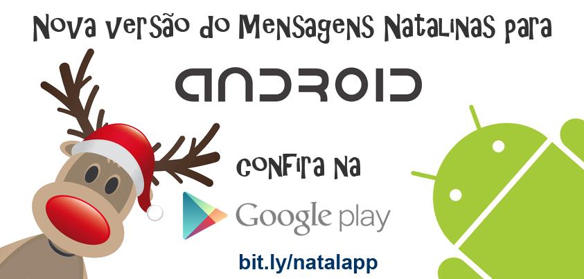 Mensagens Natalinas para Android