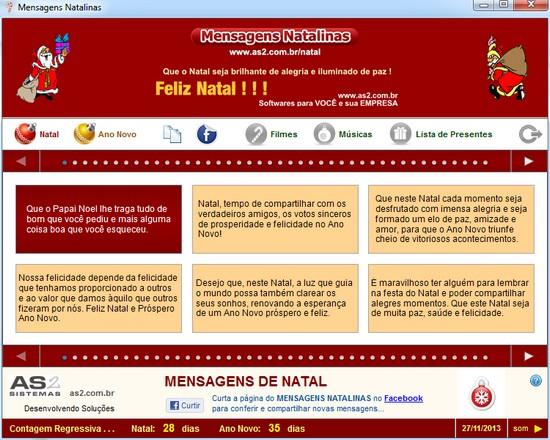 Mensagens Natalinas 2013/2014